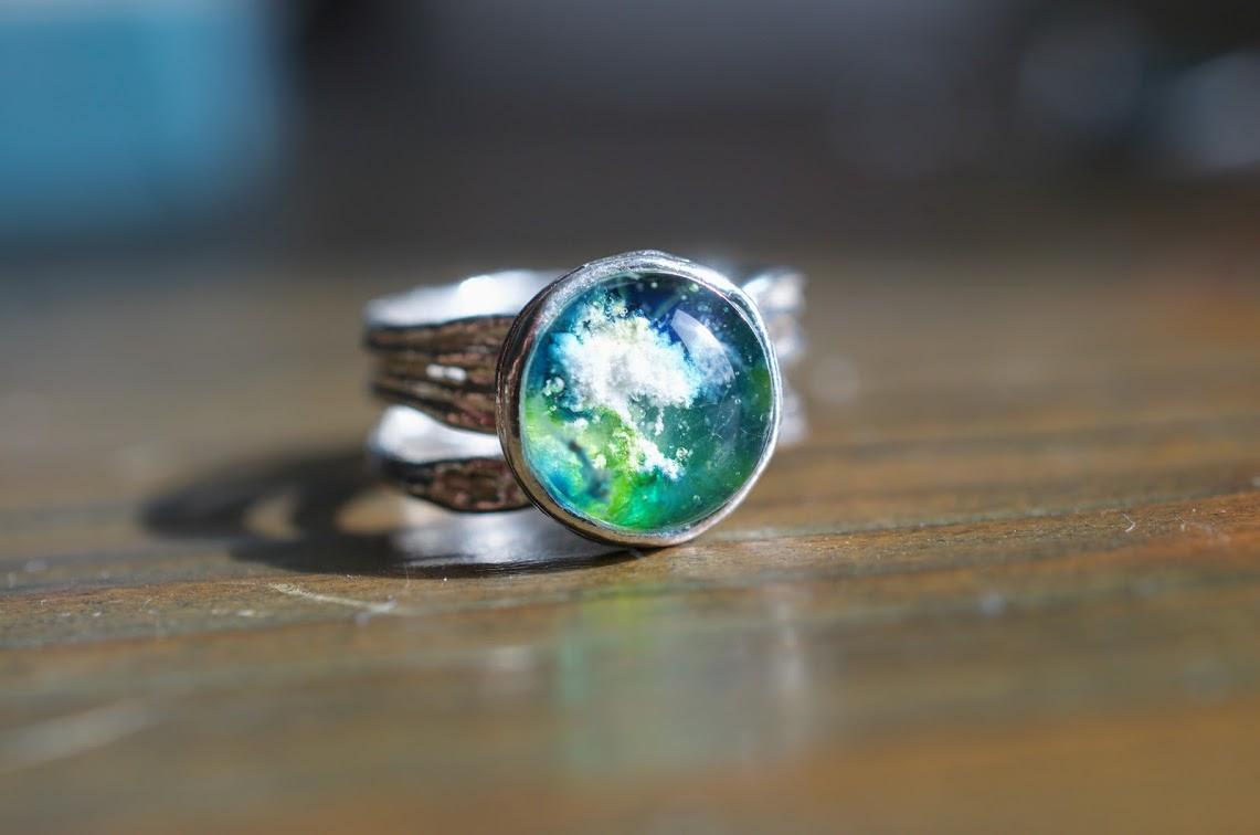 Freya Glass Cremation Jewelry Annnicoleco